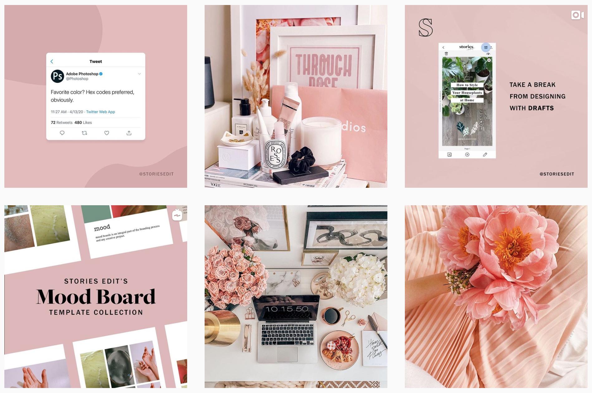 instagram branding - storiesedit instagram feed
