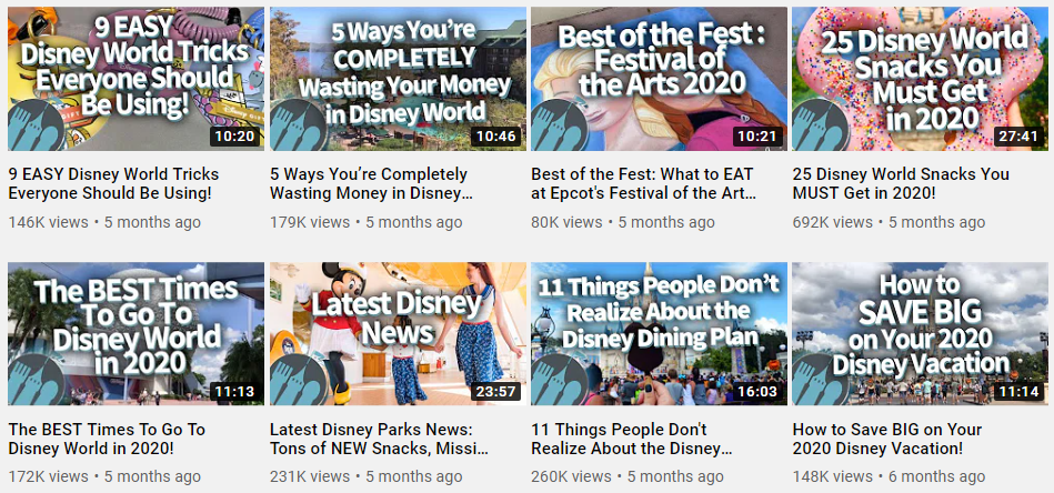 "DFB's listicles and ""how-to"" titles are prime examples are what performs will in terms of YouTube SEO"