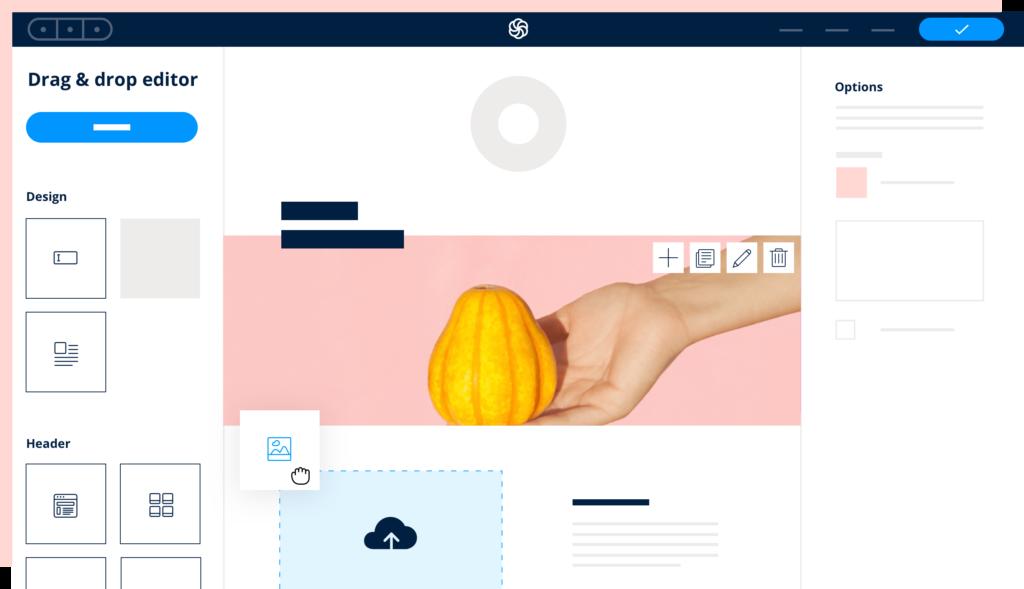 sendinblue email editor