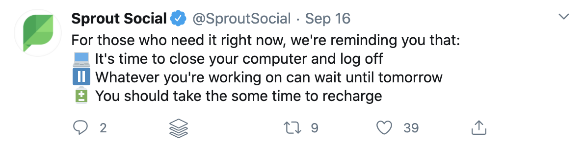repurpose livestream - twitter post with no visuals