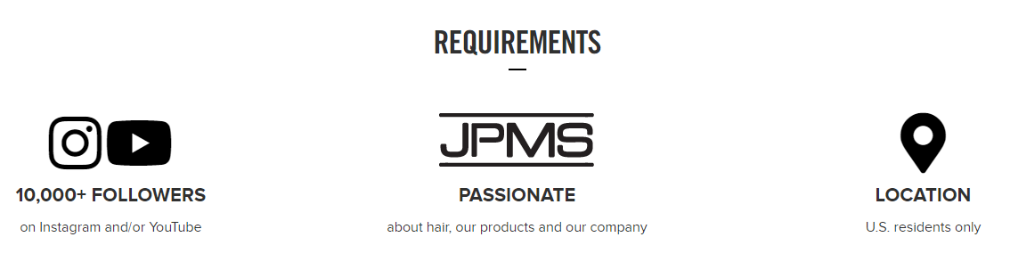paul mitchell brand ambassador program requirements