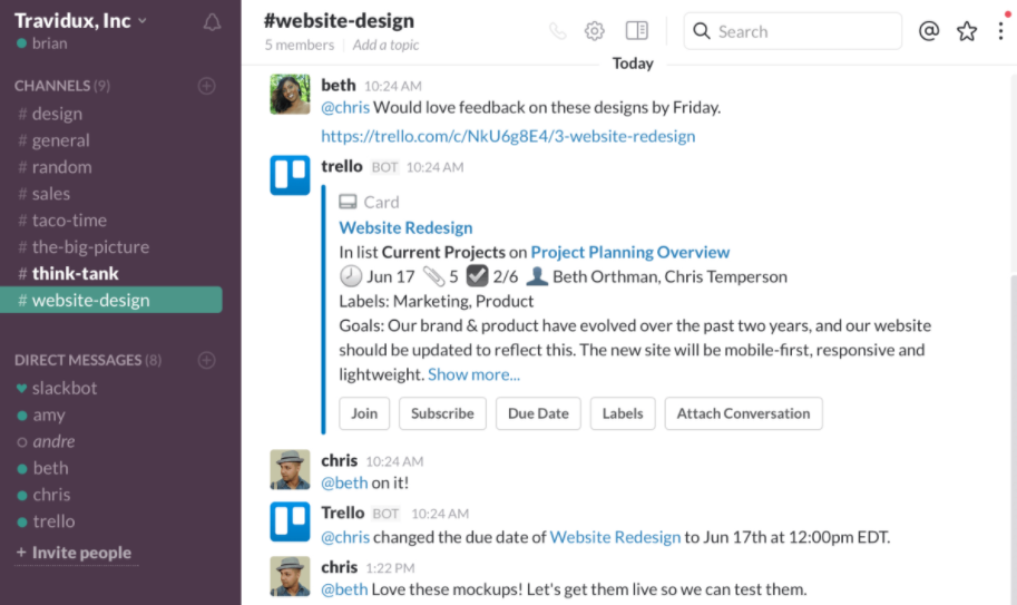 How to use Trello for Slack