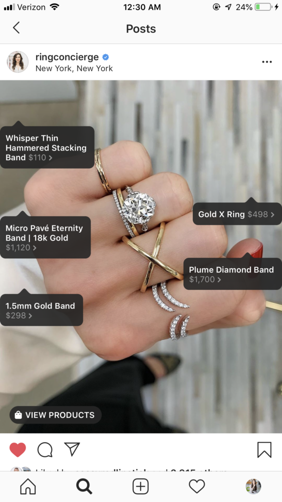 Ring Concierge on Instagram - best brands to follow