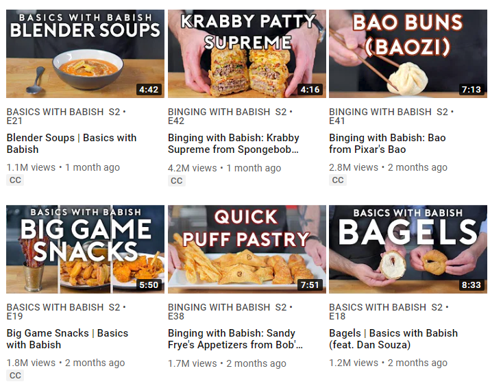 Enticing thumbnails and titles give your videos better share factor