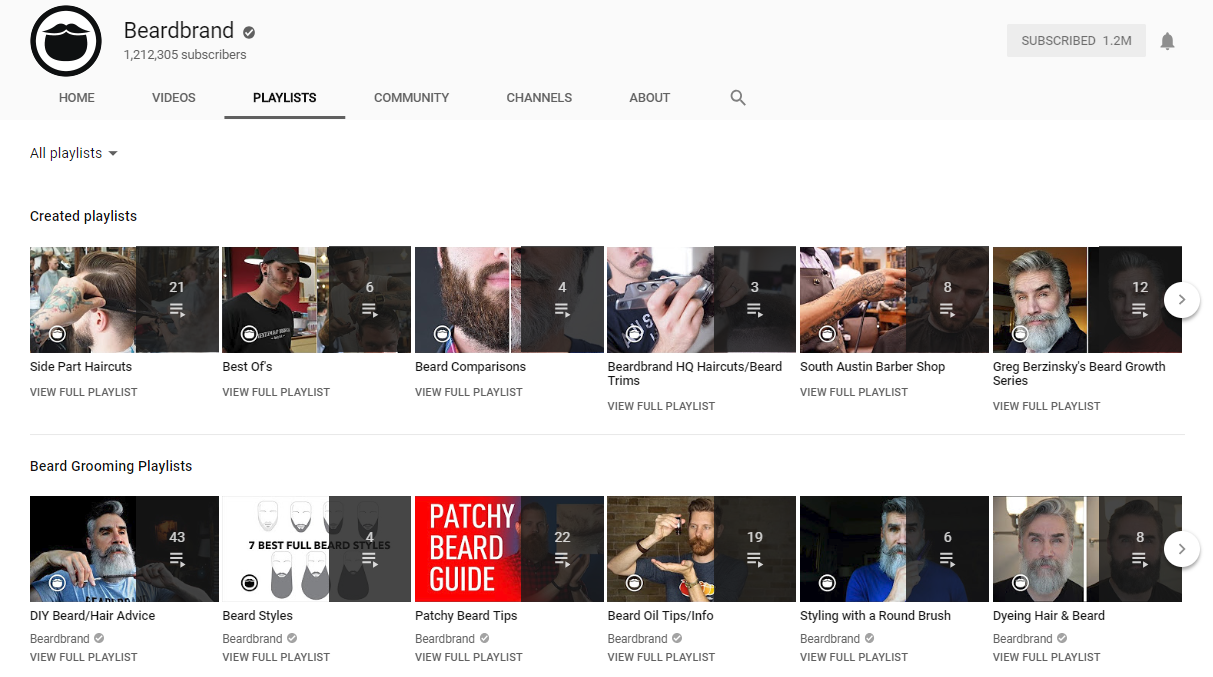 Organizing your videos into YouTube playlists makes them easier to binge-watch