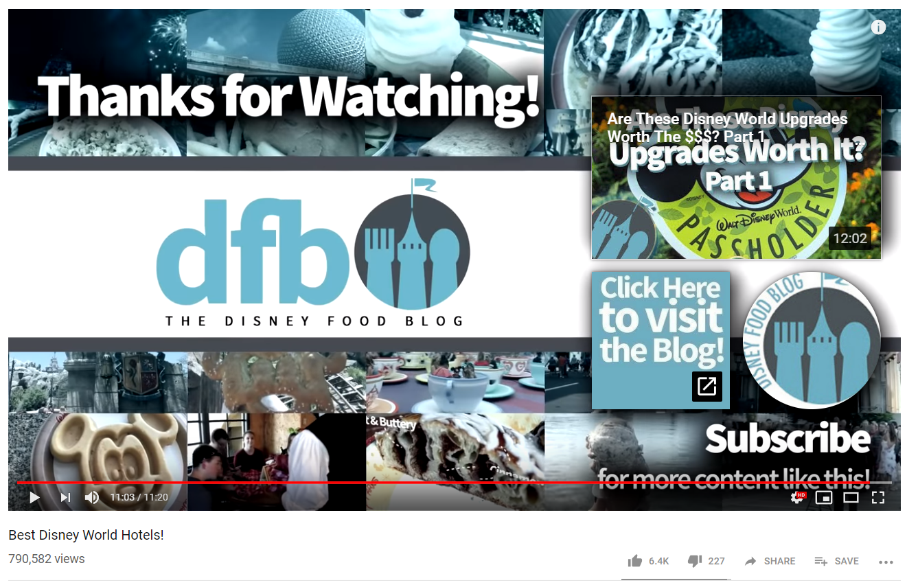 Calls-to-action help encourage viewers to watch more content