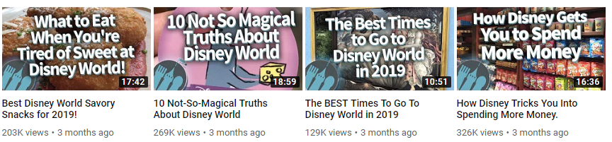 """Listicles and """"best of"""" videos traditionally perform well on YouTube"""