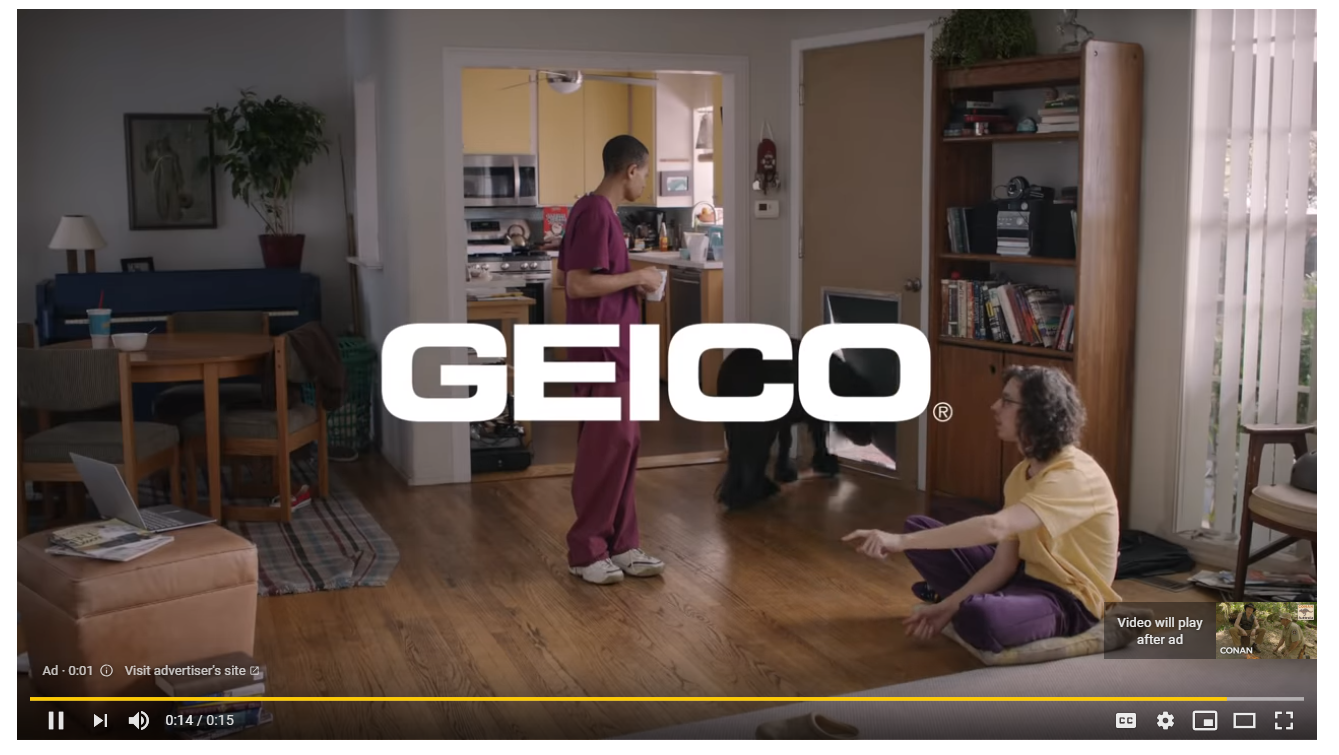 """YouTube's pre-roll ads are quite literally """"must-see"""""""