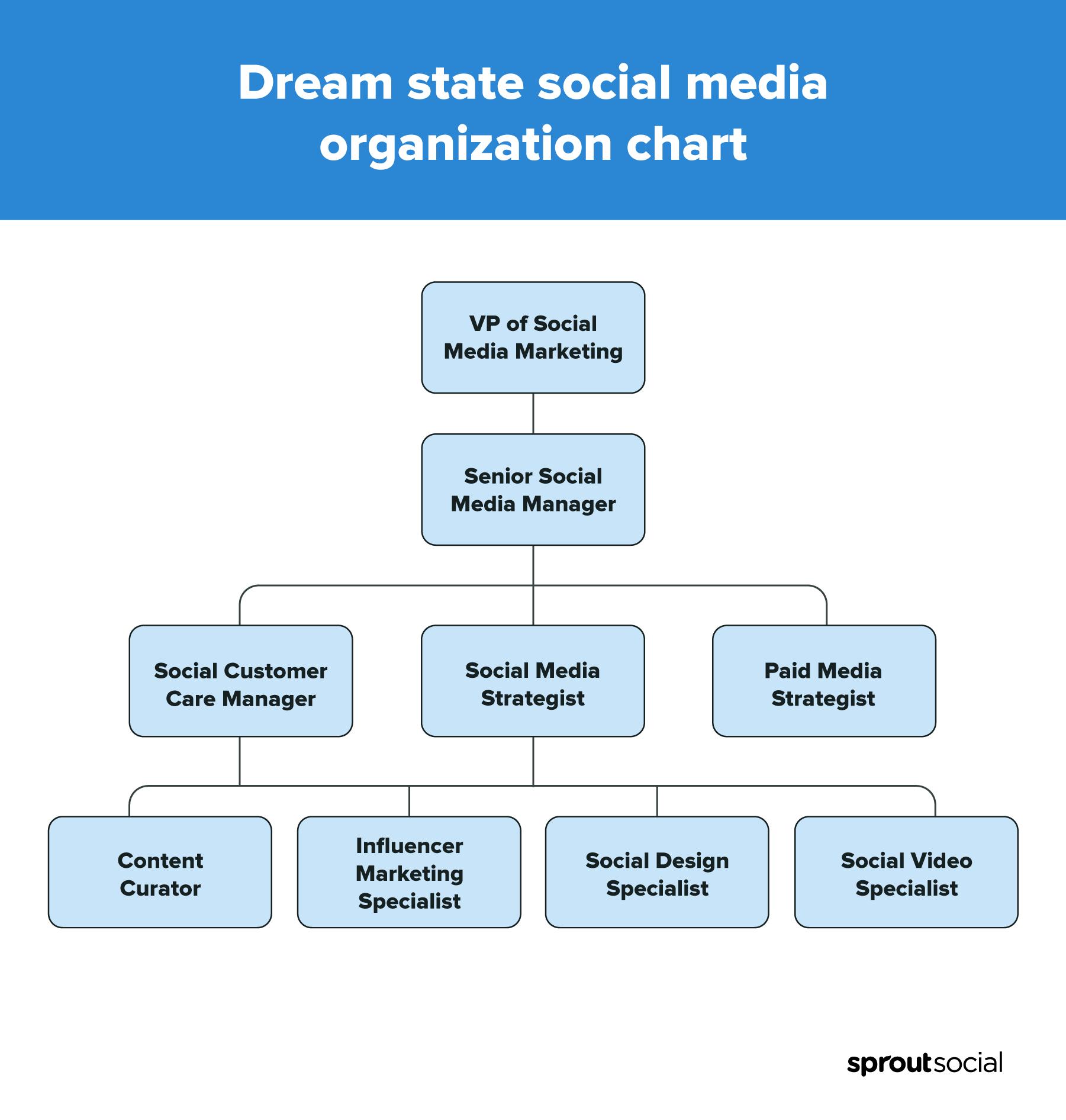 organigrama del equipo social del estado de los sueños