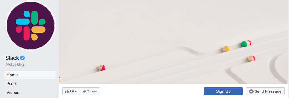 slack facebook cover image example