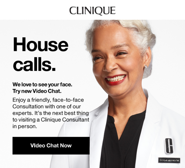 tools like clinique's live video support is the future of conversational commerce