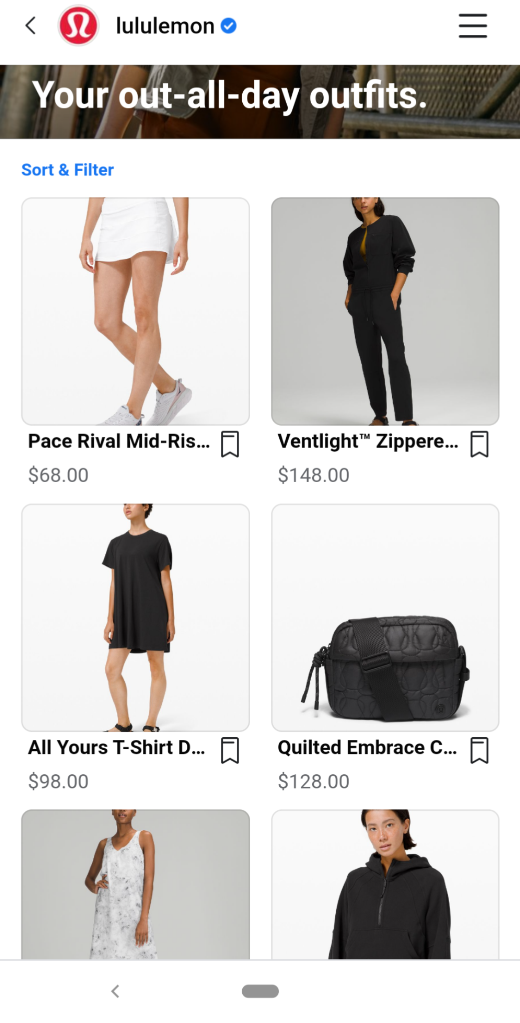 product collection in facebook shops