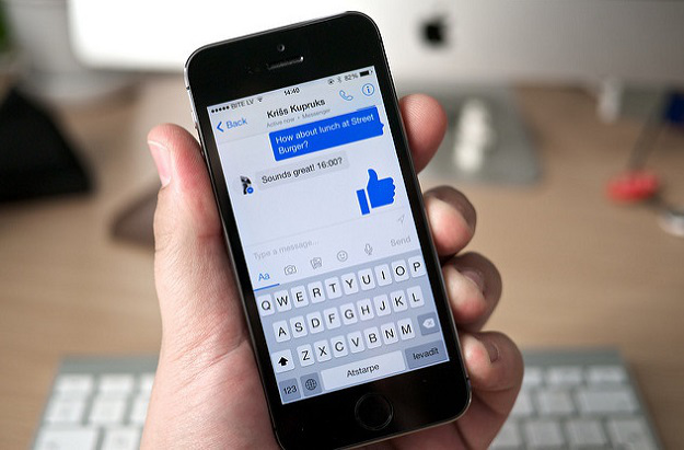 facebook messenger example image