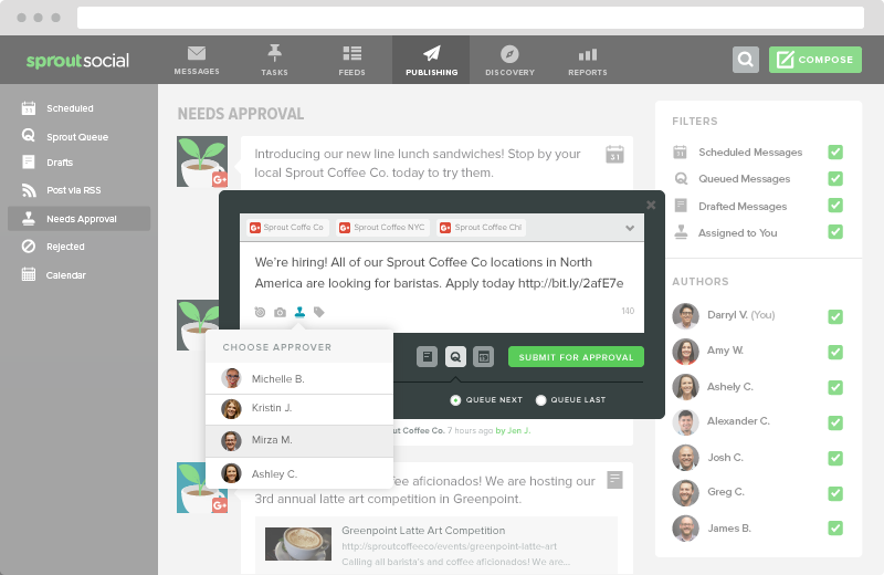 Google Plus Tool For Scheduling & Reporting