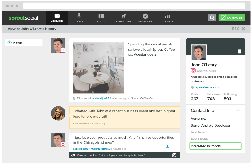 Instagram management tools sprout social stay productive with team tools and workflows ccuart Images